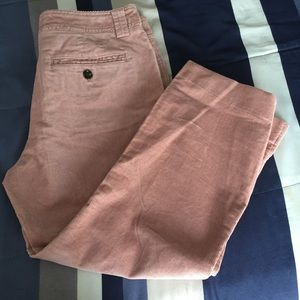Tommy Hilfiger Pink Corduroy Pants